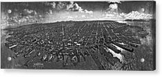 San Francisco Panorama Acrylic Print by Underwood Archives
