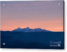 San Francisco Peaks At Sunrise Acrylic Print