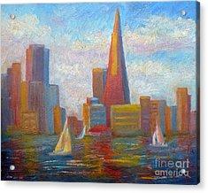 San Francisco Reflections Acrylic Print