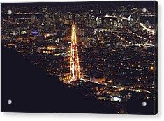 San Francisco Skyline  Acrylic Print by Kenny Noddin