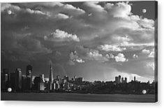 San Francisco Skyline Acrylic Print by Sean Foster