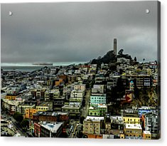 San Francisco - Telegraph Hill 002 Acrylic Print