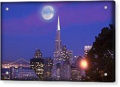 San Francisco - A Golden Handcuff Acrylic Print