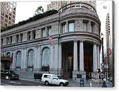 San Francisco Wells Fargo Building - 5d20603 Acrylic Print