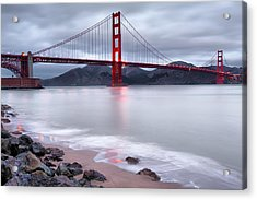 San Francisco's Golden Gate Bridge Acrylic Print by Gregory Ballos