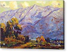 San Gabriel Mountains Acrylic Print