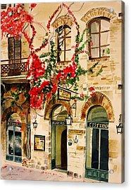 San Gimignano Acrylic Print by Judy Swerlick