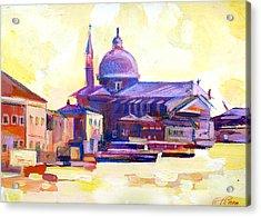 San Giorgio II Acrylic Print by Filip Mihail