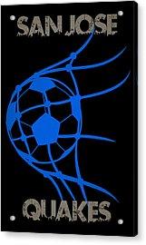 San Jose Quakes Goal Acrylic Print by Joe Hamilton