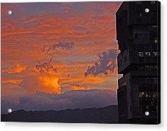San Jose Sunset Acrylic Print