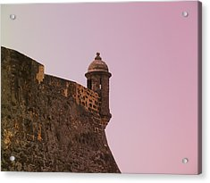 San Juan - City Lookout Post Acrylic Print