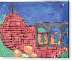 Acrylic Print featuring the painting San Juan Capistrano by Artists With Autism Inc