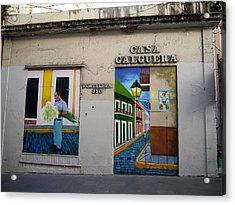 San Juan - Casa Galguera Mural Acrylic Print by Richard Reeve