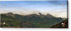 San Juan Mountian Range Acrylic Print by Max Mullins