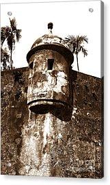 San Juan Tower Acrylic Print by John Rizzuto