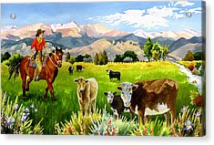 San Juan Valley Acrylic Print