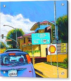 San Luis Obispo Ca Acrylic Print