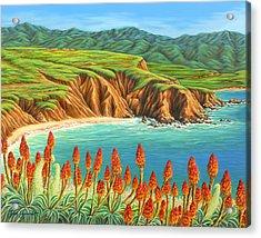 San Mateo Springtime Acrylic Print