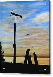 San Onofre Sunrise Acrylic Print