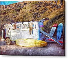 The Surfing Life Acrylic Print