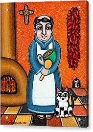 San Pascual And Felix Acrylic Print