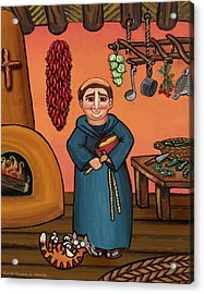 San Pascual And Vigas Acrylic Print by Victoria De Almeida