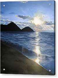 Acrylic Print featuring the painting San Sebastian by Jessica Tookey