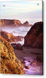 San Simeon Coastal View Acrylic Print by Michael Rock