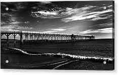 San Simeon Pier-03 Acrylic Print