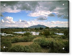San Tan Wide Acrylic Print by George Lenz
