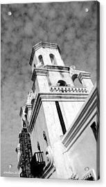 San Xavier Bell Tower Acrylic Print