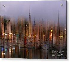 Sanary Surreal Acrylic Print by Rod Jones