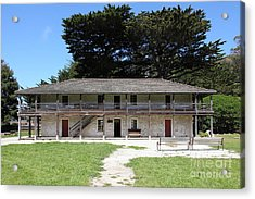 Sanchez Adobe Pacifica California 5d22644 Acrylic Print by Wingsdomain Art and Photography
