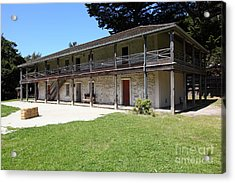 Sanchez Adobe Pacifica California 5d22647 Acrylic Print by Wingsdomain Art and Photography