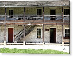Sanchez Adobe Pacifica California 5d22655 Acrylic Print by Wingsdomain Art and Photography