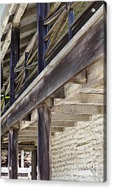 Sanchez Adobe Pacifica California 5d22658 Acrylic Print by Wingsdomain Art and Photography
