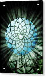 Sanctum Acrylic Print by Peter Waters