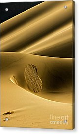 Sand Avalanche Acrylic Print