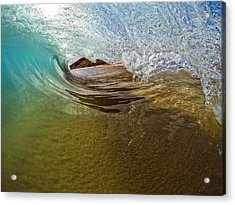 Sand Bar Room Acrylic Print by Brad Scott