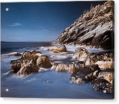 Acrylic Print featuring the photograph Sand Beach by Steve Zimic