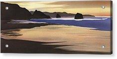 Sand Dollar Beach Acrylic Print