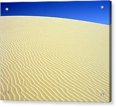 Acrylic Print featuring the photograph Sand Dune by Ramona Johnston