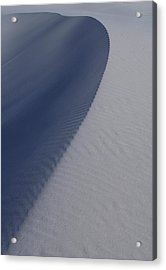 Sand Dunes At White Sands National Monument Acrylic Print by Jetson Nguyen