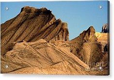 Sand Dunes In Capital Reef Acrylic Print by Eva Kato