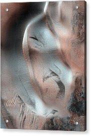 Sand Dunes On Mars Acrylic Print