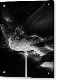 Sand Fall Antelope Canyon Acrylic Print