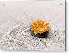 Sand Garden Acrylic Print