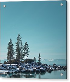 Sand Harbor-lake Tahoe Acrylic Print by Kim Hojnacki