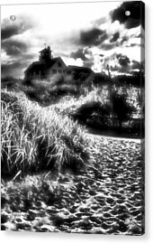 Acrylic Print featuring the photograph Sand In Ma Shoes by Robert McCubbin