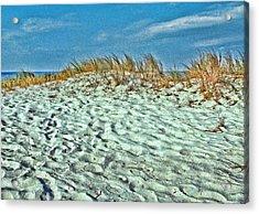 Sand In My Shoes Acrylic Print by Oscar Alvarez Jr
